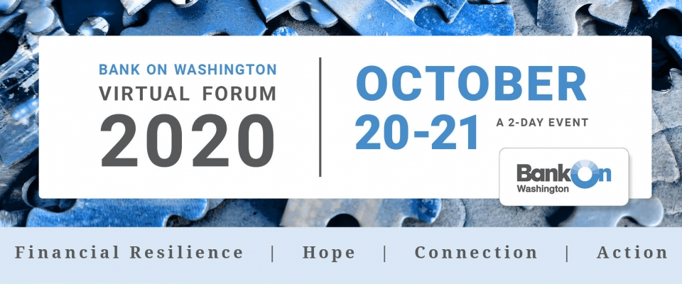 Bank On Washington Forum October 20 & 21